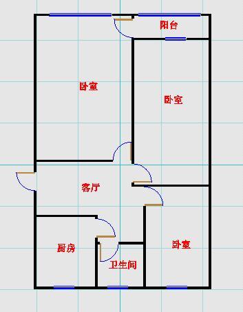 邹李小区 3室1厅 过五年 简装 45万