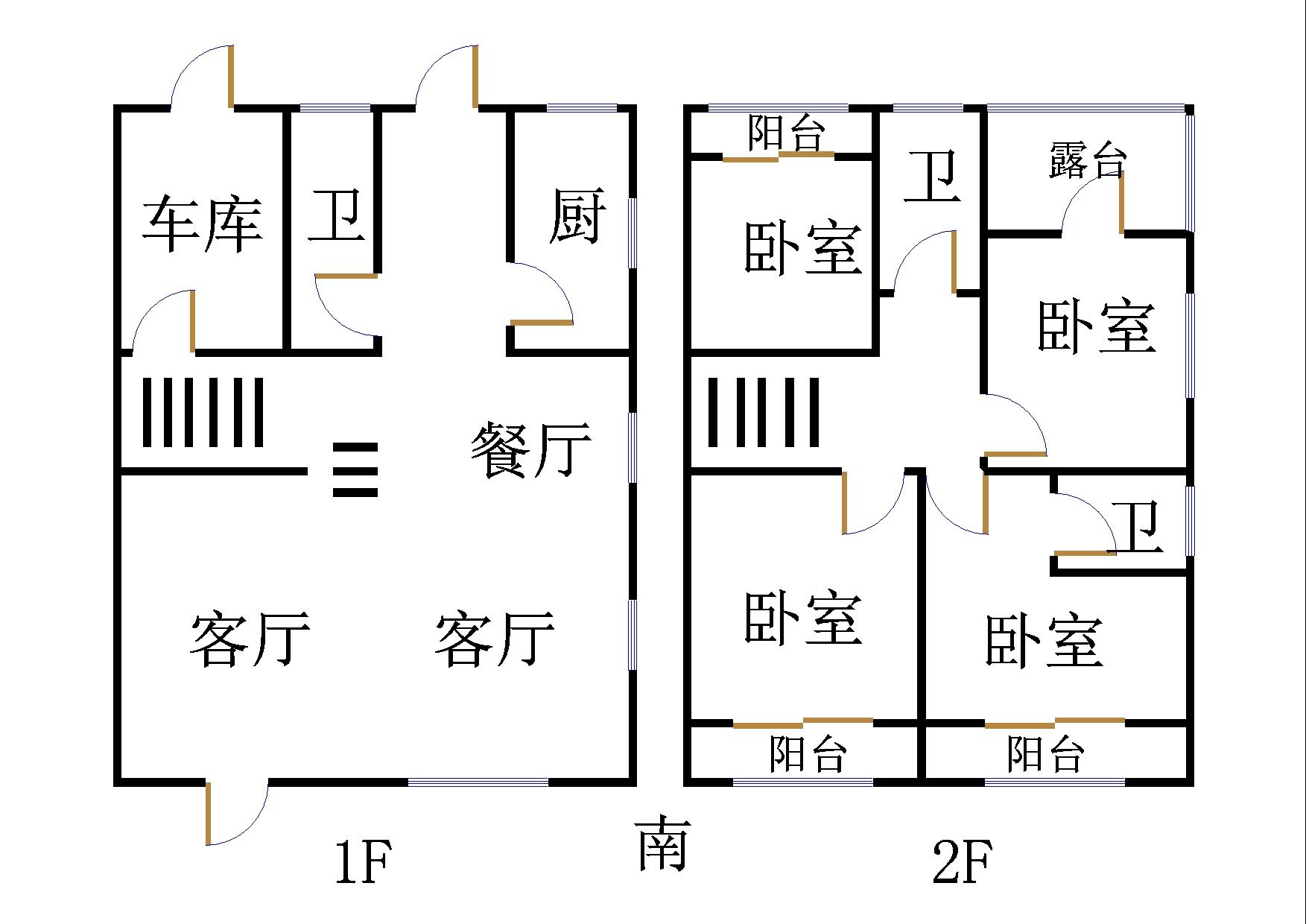 凯元山庄 5室2厅 双证齐全 简装 330万