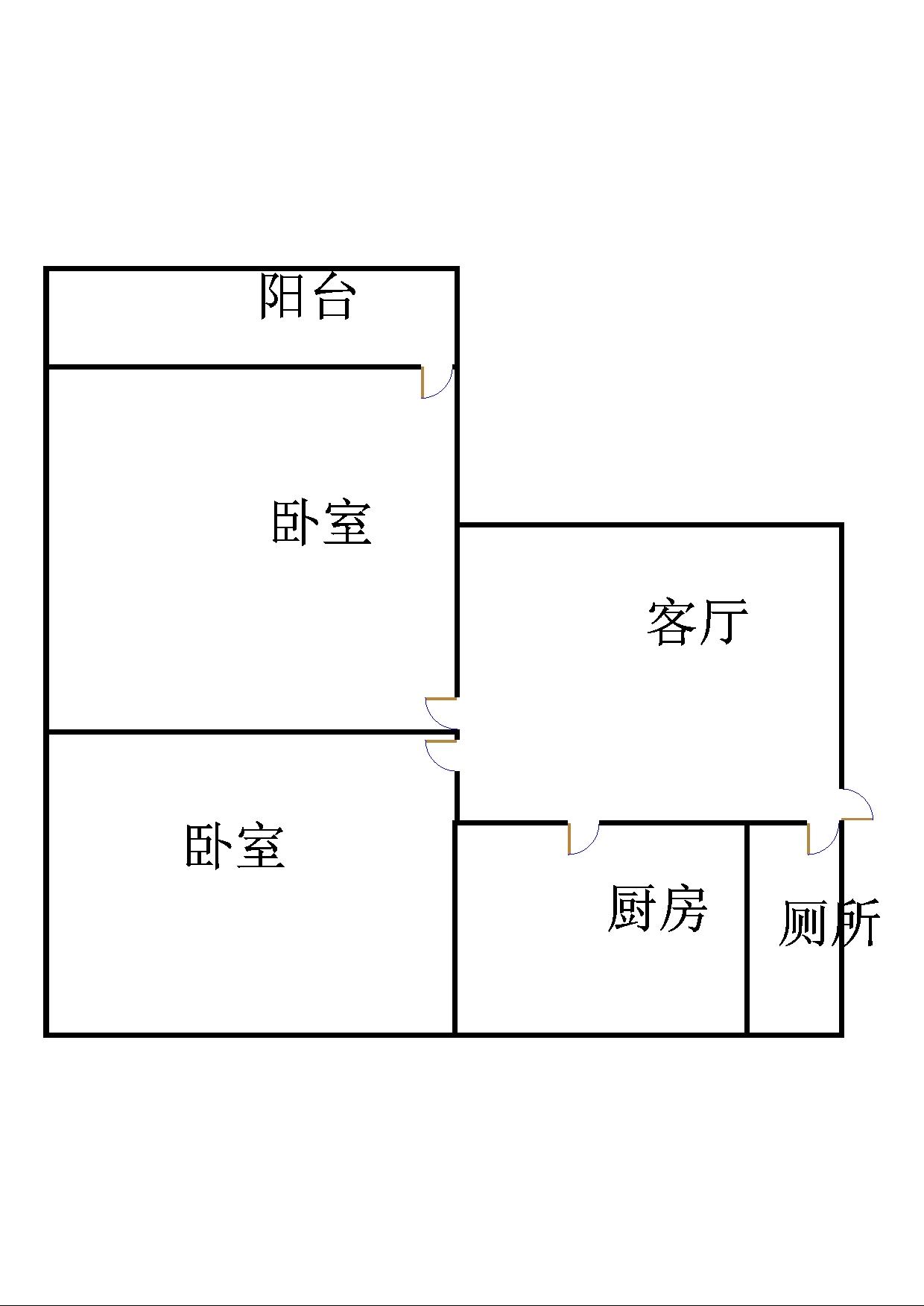 邹李小区 2室1厅 双证齐全过五年 简装 22万