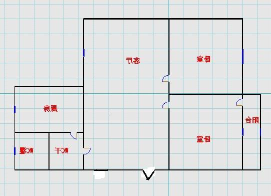肖何庄小区 2室1厅 双证齐全 简装 65万