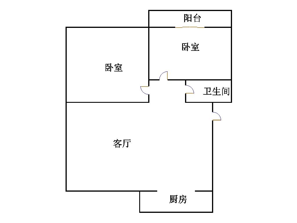 东长庄园 2室2厅  简装 45万