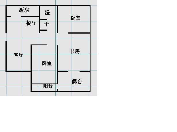 南龙国际花园 2室1厅 双证齐全 简装 95万