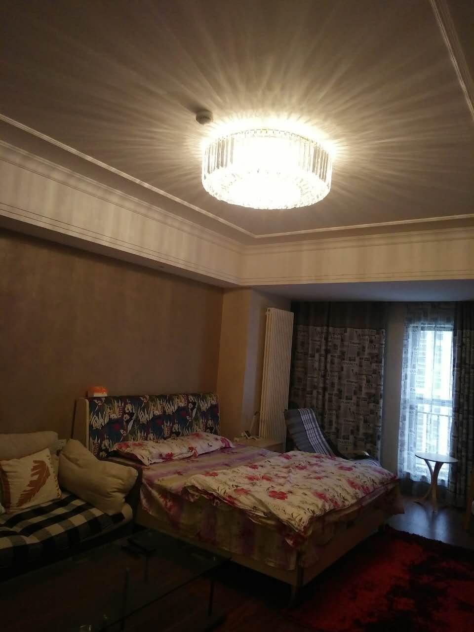 万达广场公寓 1室1厅  精装 48万房型图
