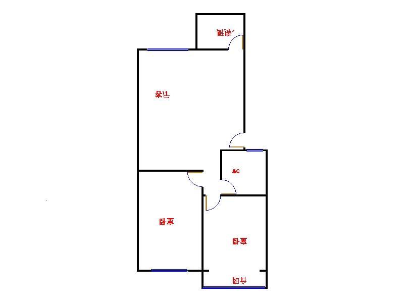 南龙国际花园 2室1厅 5楼