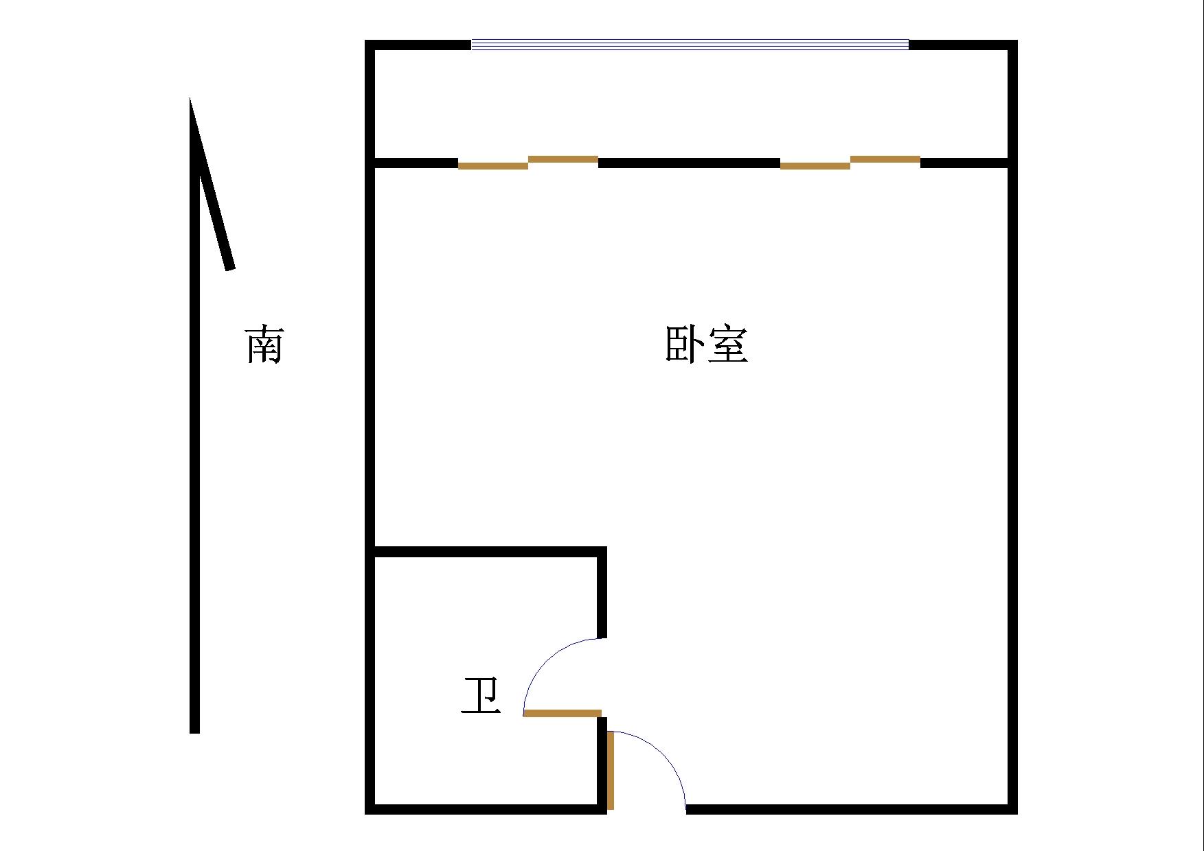 德百物流城 1室1厅 12楼