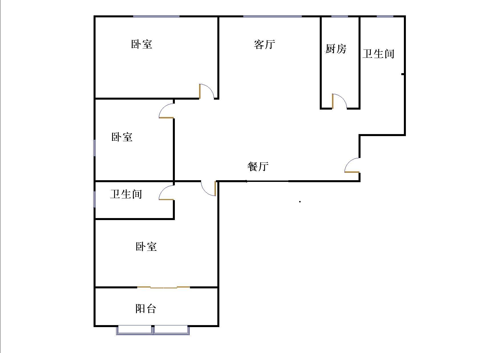 嘉城盛世 3室2厅 9楼