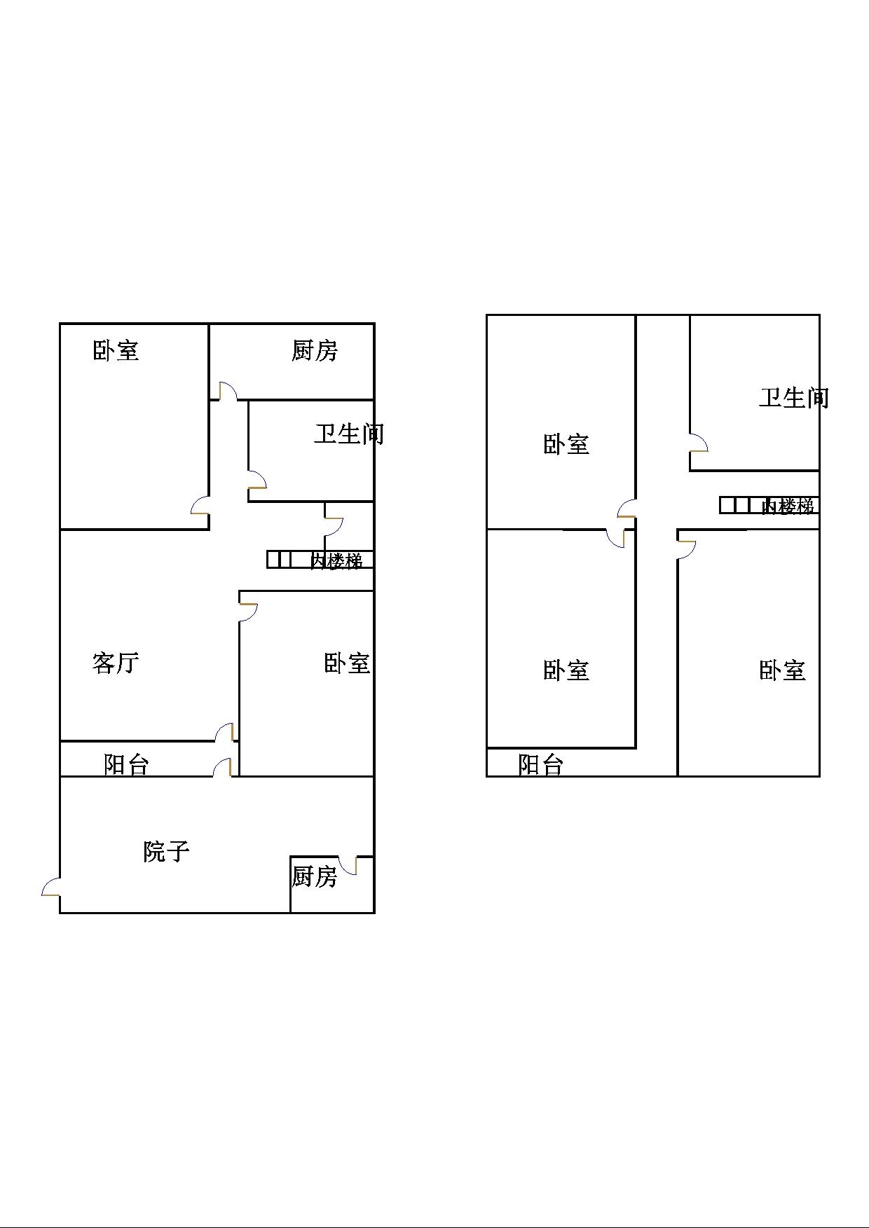 古韵大东关 4室2厅 1楼