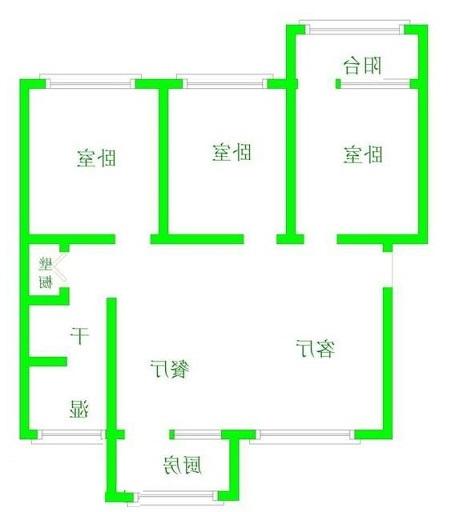 畜牧局宿舍 3室2厅 双证齐全过五年 简装 58万