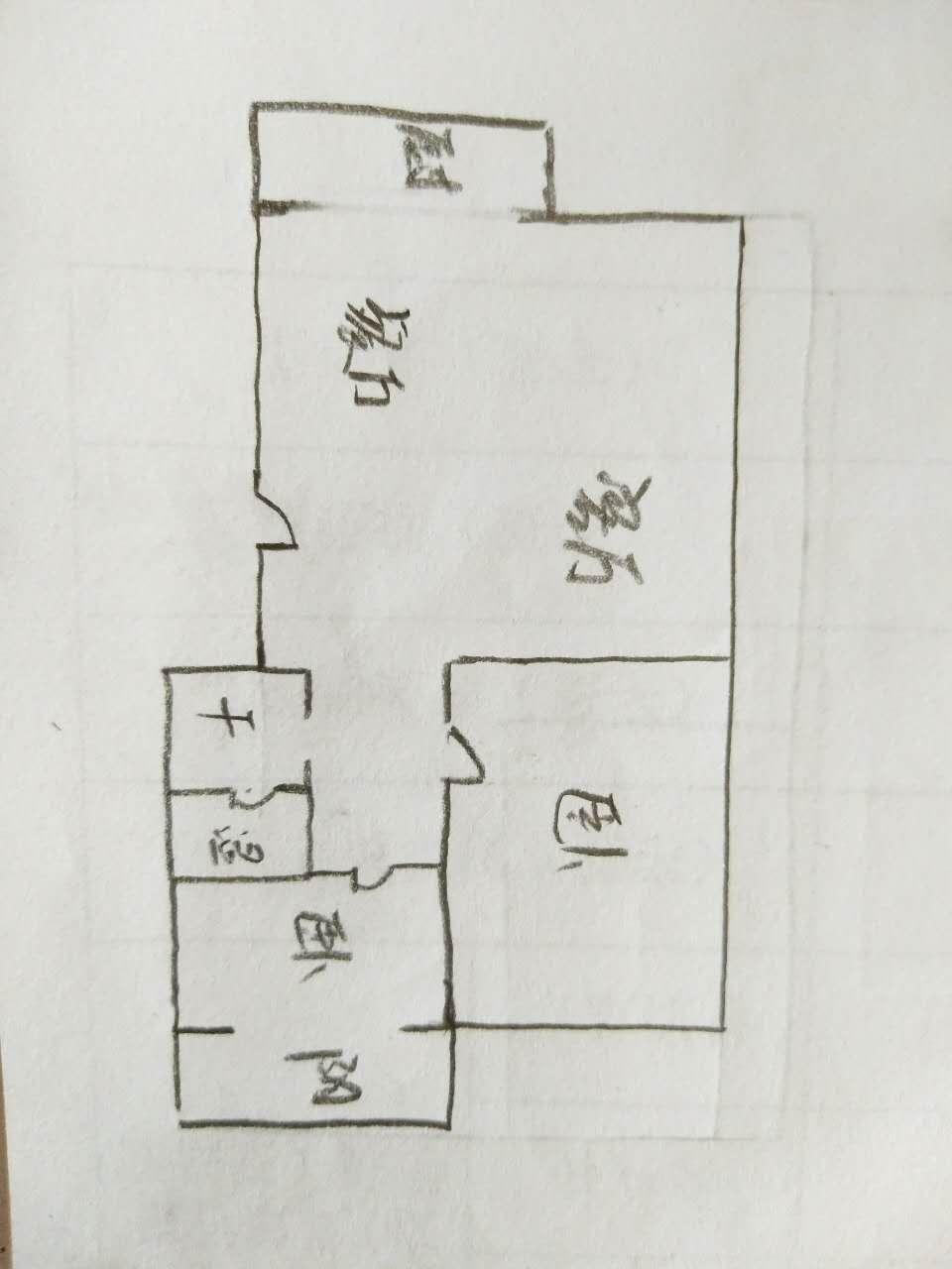 滨海首府 2室1厅 4楼