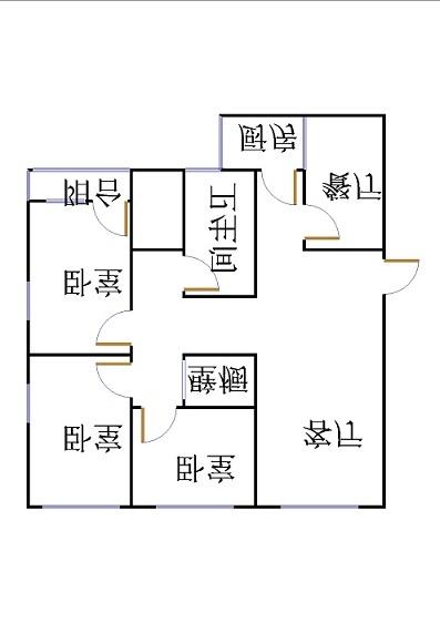 建兴小区南 3室1厅 4楼