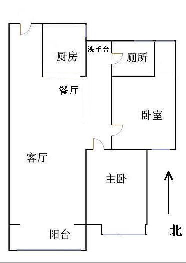 唐人中心 2室2厅 19楼