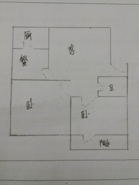 长青小区 2室2厅 2楼