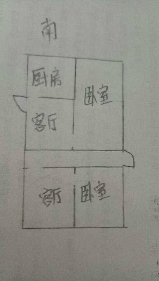 双环佳苑 1室1厅 1楼