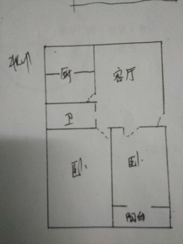 晶峰宿舍 2室2厅 6楼