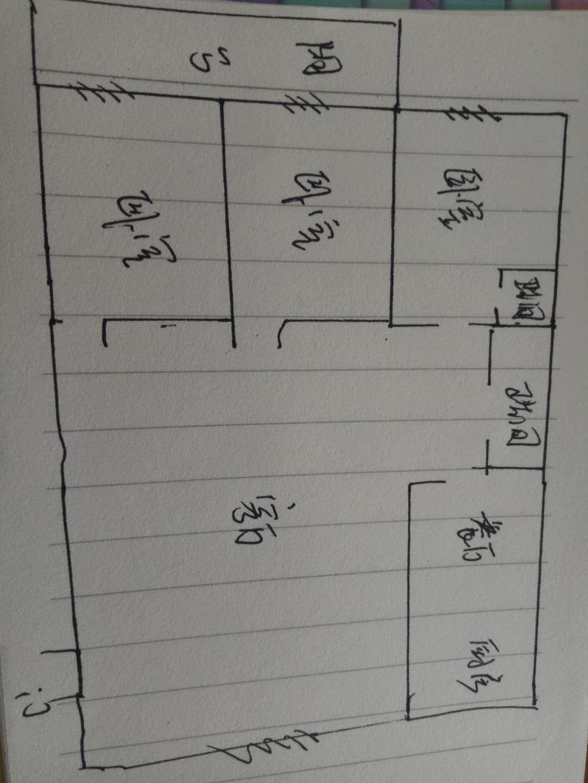 和平公寓南区 3室2厅 双证齐全过五年 简装 85万
