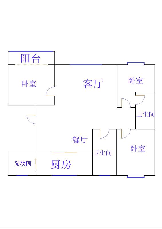 嘉诚尚东 3室2厅 11楼