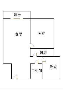泰和名仕港 2室2厅 12楼