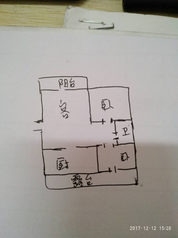 三和竹园 1室1厅 6楼