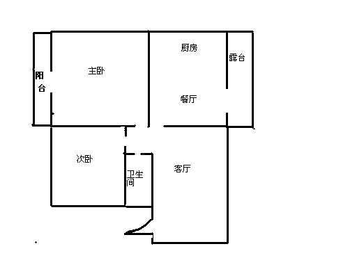 中建华府(欧香丽都) 2室2厅 4楼