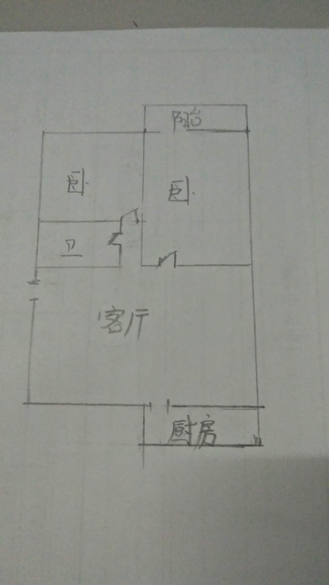 青龙潭小区 2室1厅  精装 103万