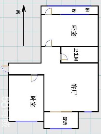 嘉和居 2室1厅 5楼
