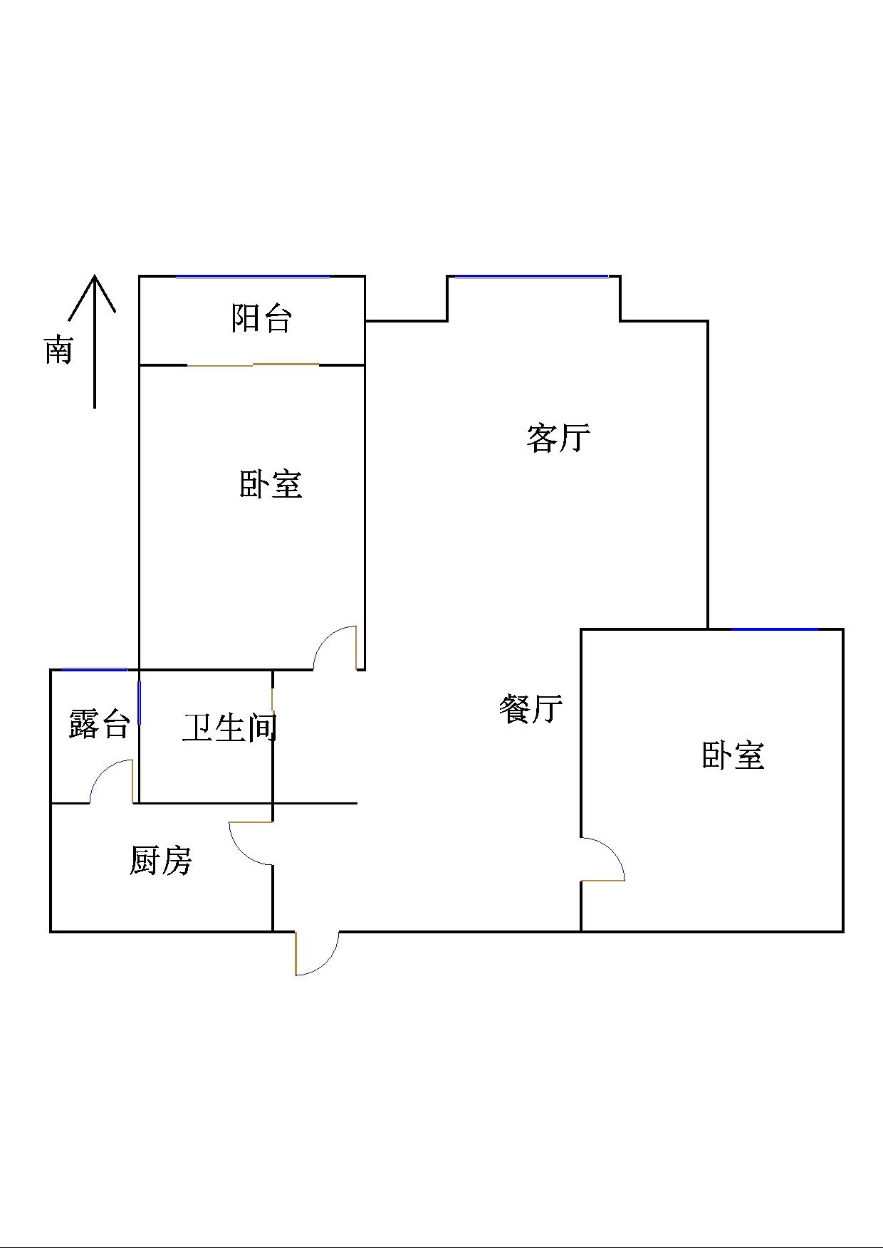 金鼎公馆 2室2厅 21楼