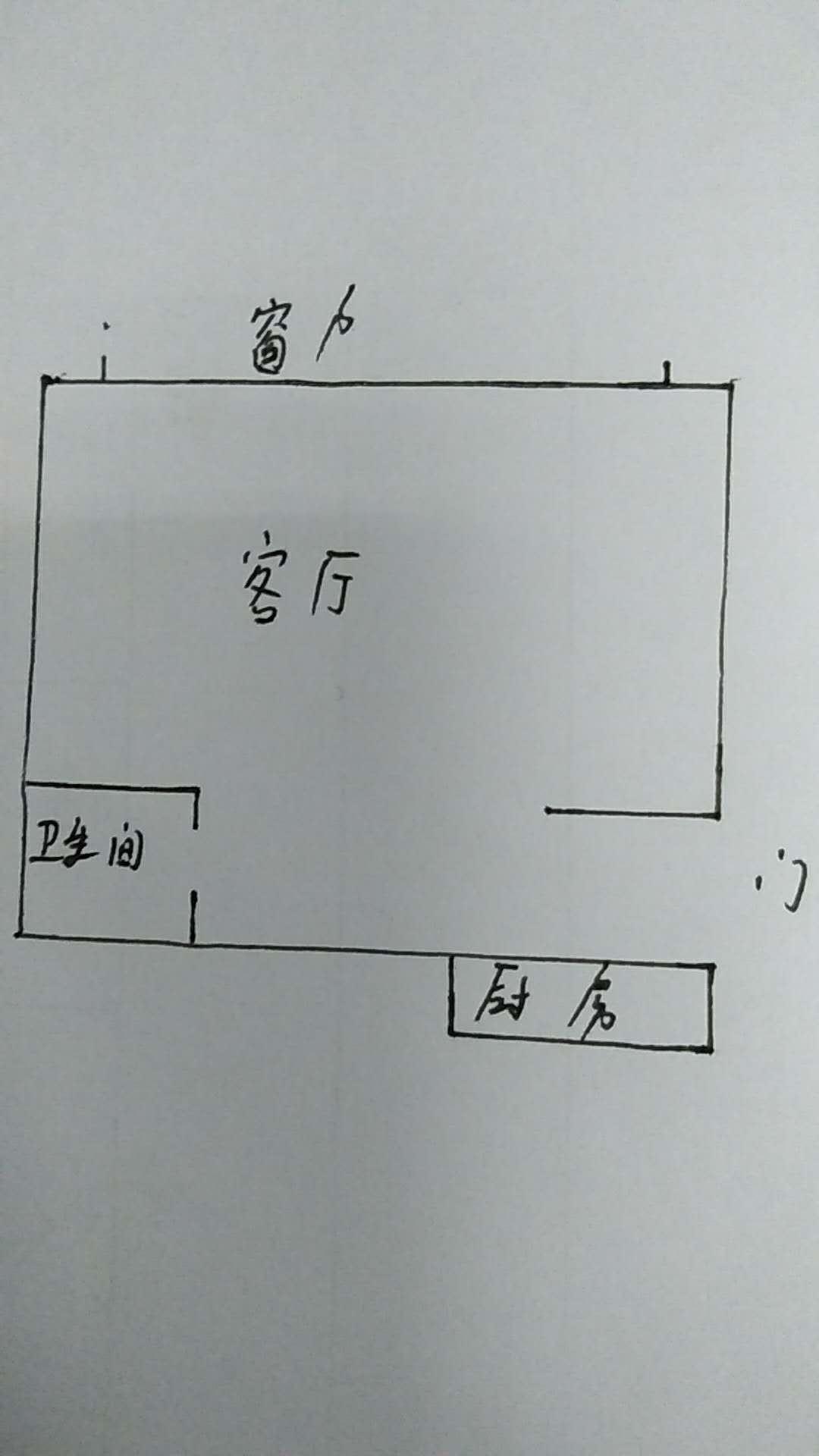 万达广场公寓 1室1厅 7楼