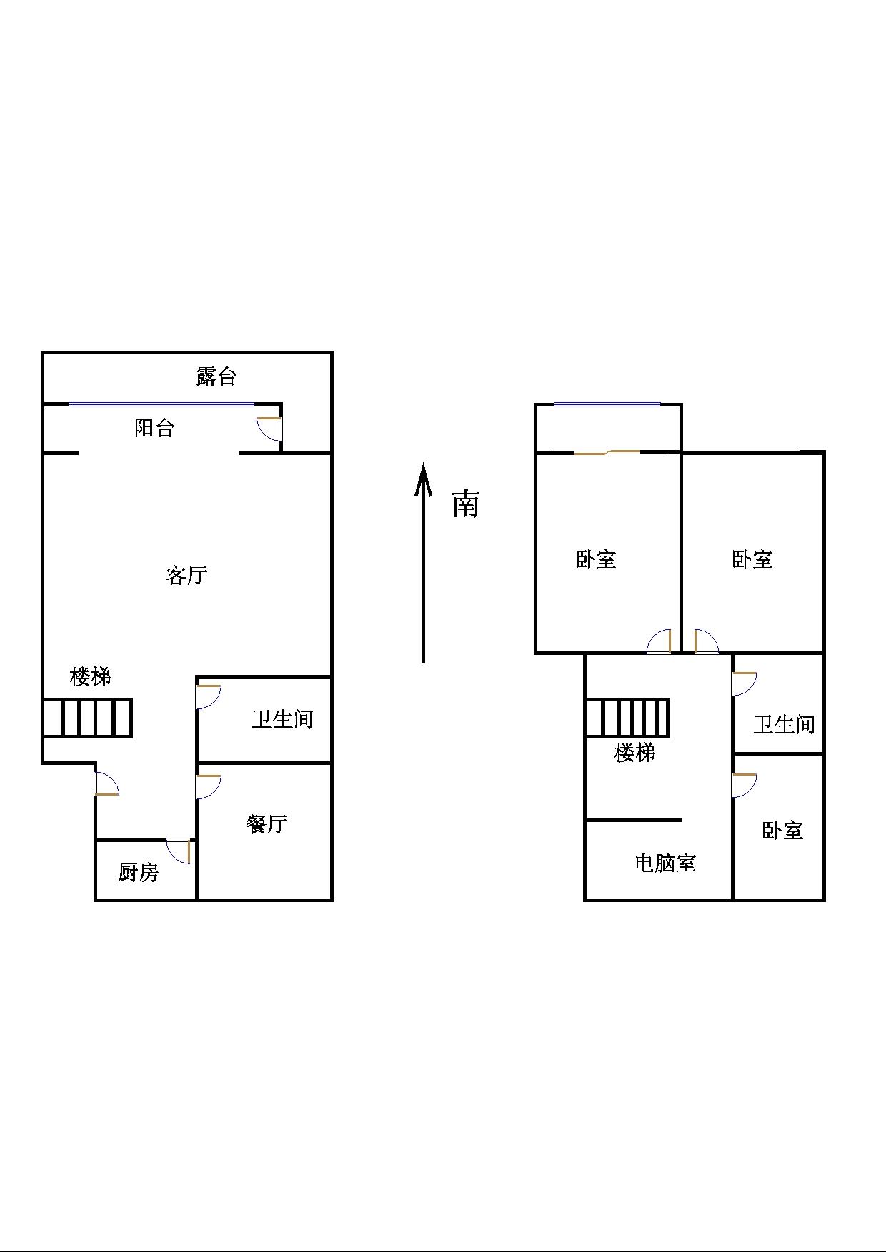 安然居宿舍 4室2厅 1楼