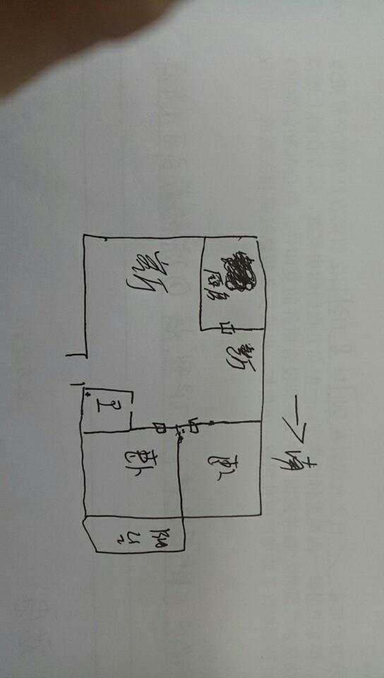 东建德州花园 2室2厅 2楼