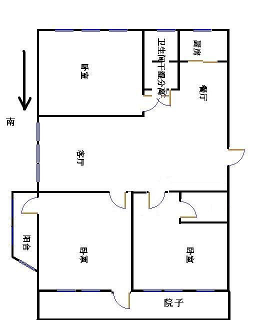 锦绣安然苑 3室2厅 双证齐全 简装 200万