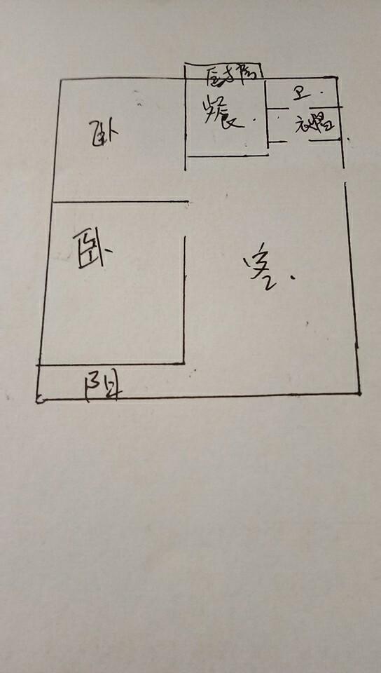 荣庄小区 2室1厅 4楼