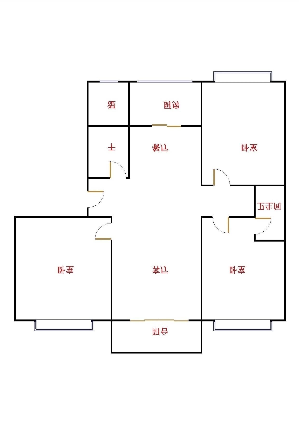 金鼎公馆 3室2厅 5楼
