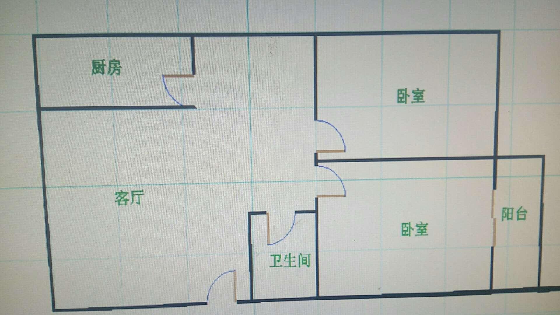 岔河紫薇园 2室2厅 4楼