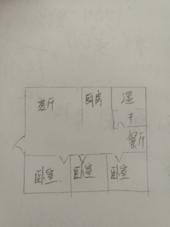 青龙潭小区 3室2厅 2楼