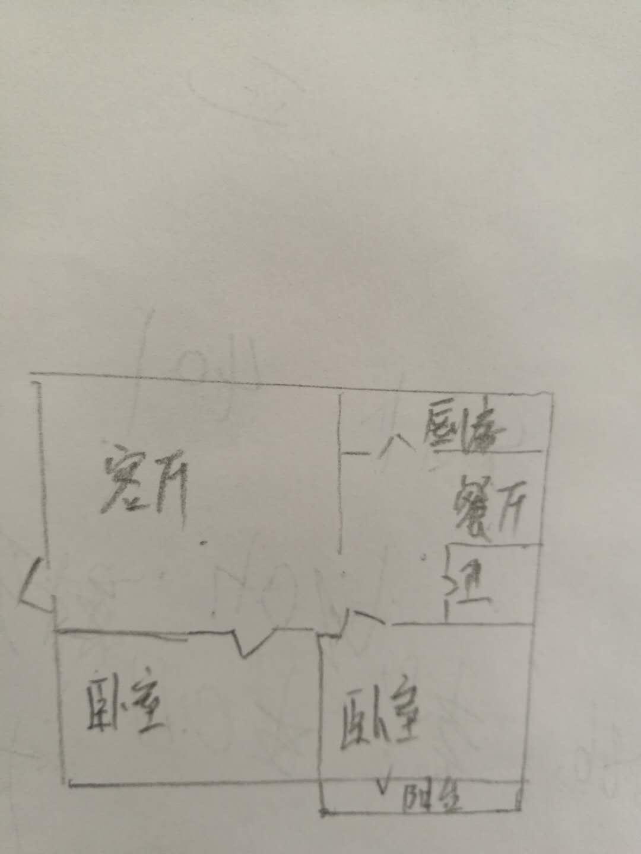 工科所宿舍 2室2厅 3楼