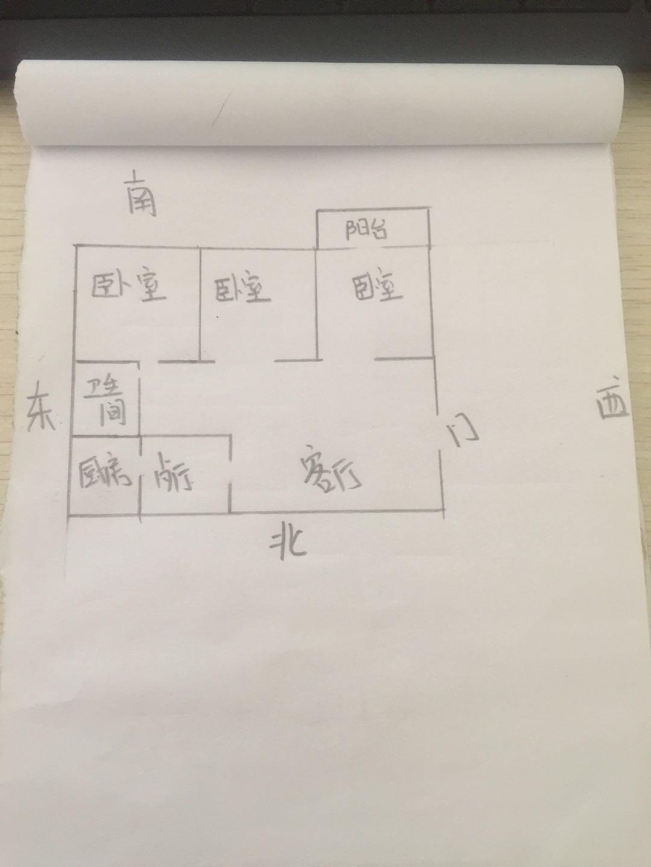 广川小区 2室1厅 3楼