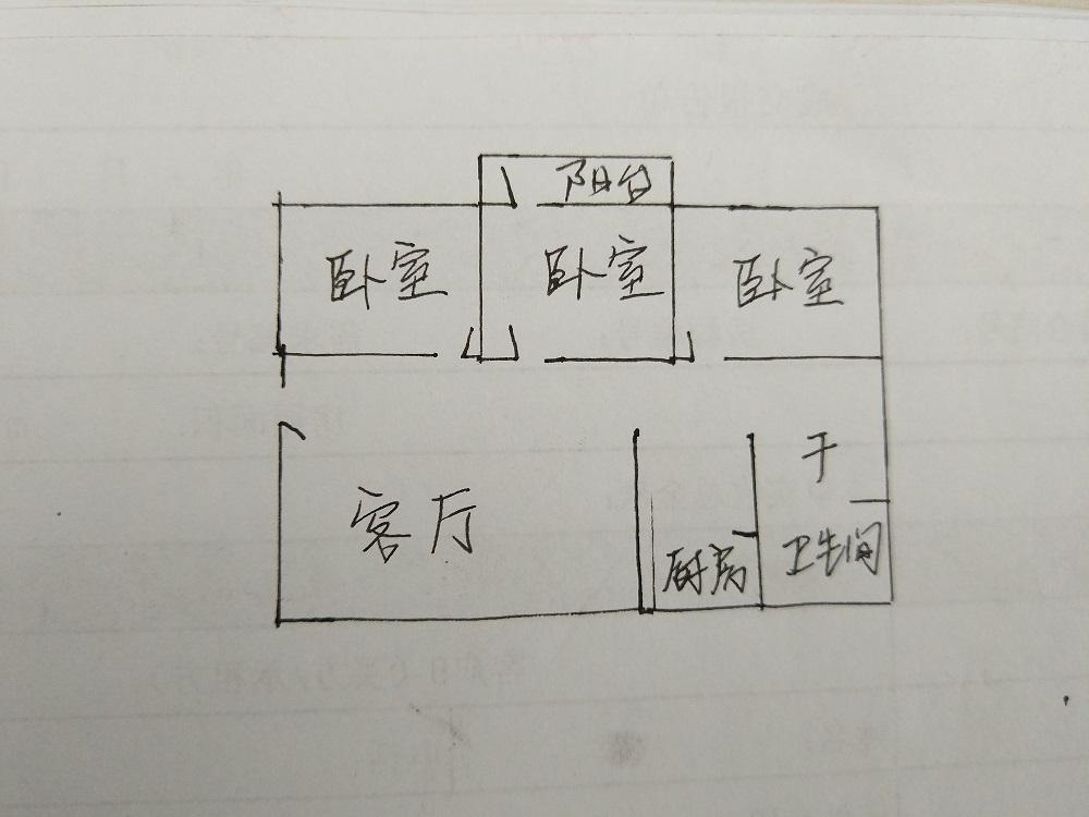 农村信用社 3室2厅  简装 50万