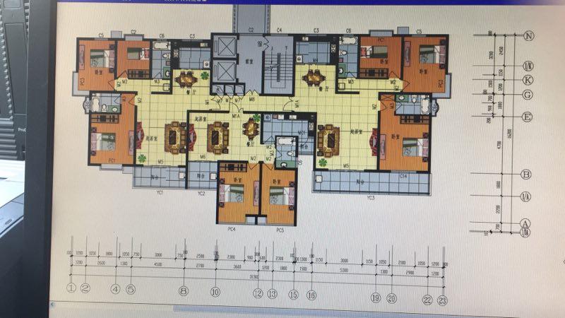 中茂家园 3室2厅 17楼