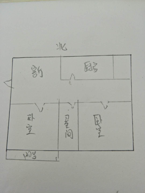 育新小区 2室1厅  简装 47.6万