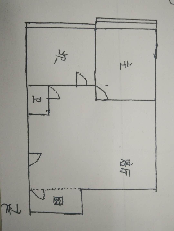 长河小区 2室1厅 4楼