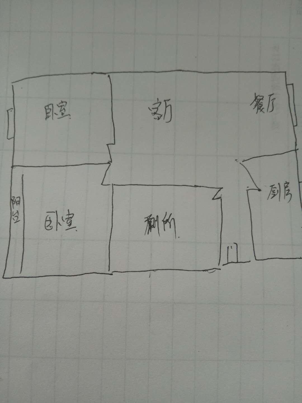 时代花园 2室2厅 5楼