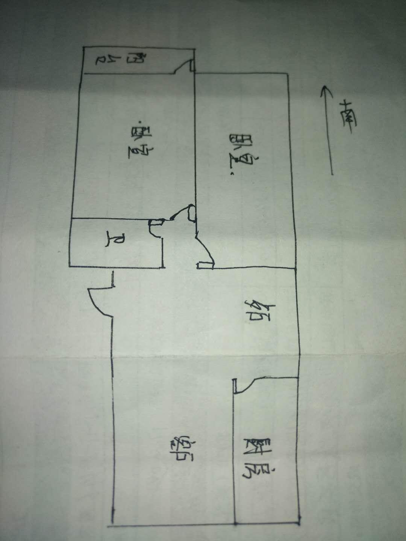 双环佳苑 2室2厅 1楼