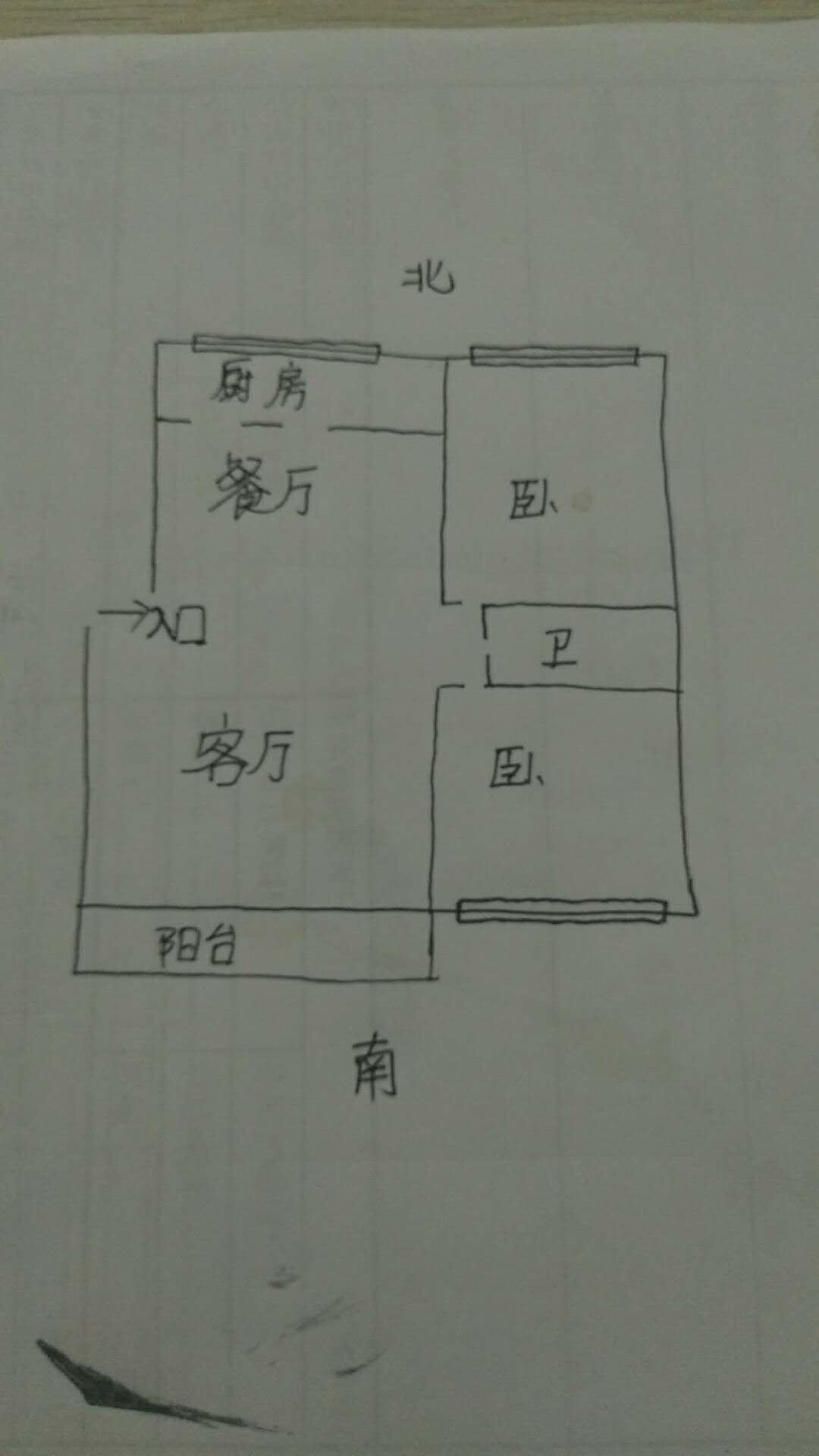袁桥社区 2室2厅 3楼