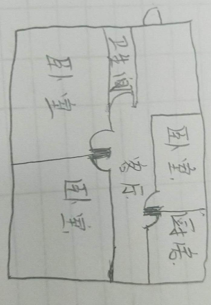 萧何庄园 3室2厅 6楼
