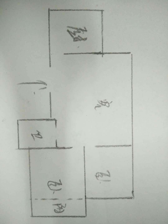 南源港湾 2室1厅 2楼