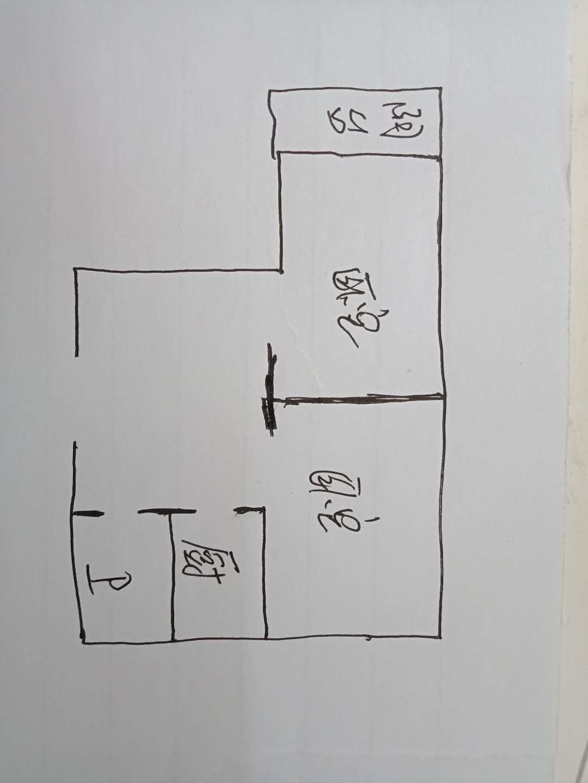刨花板厂宿舍 2室1厅 4楼