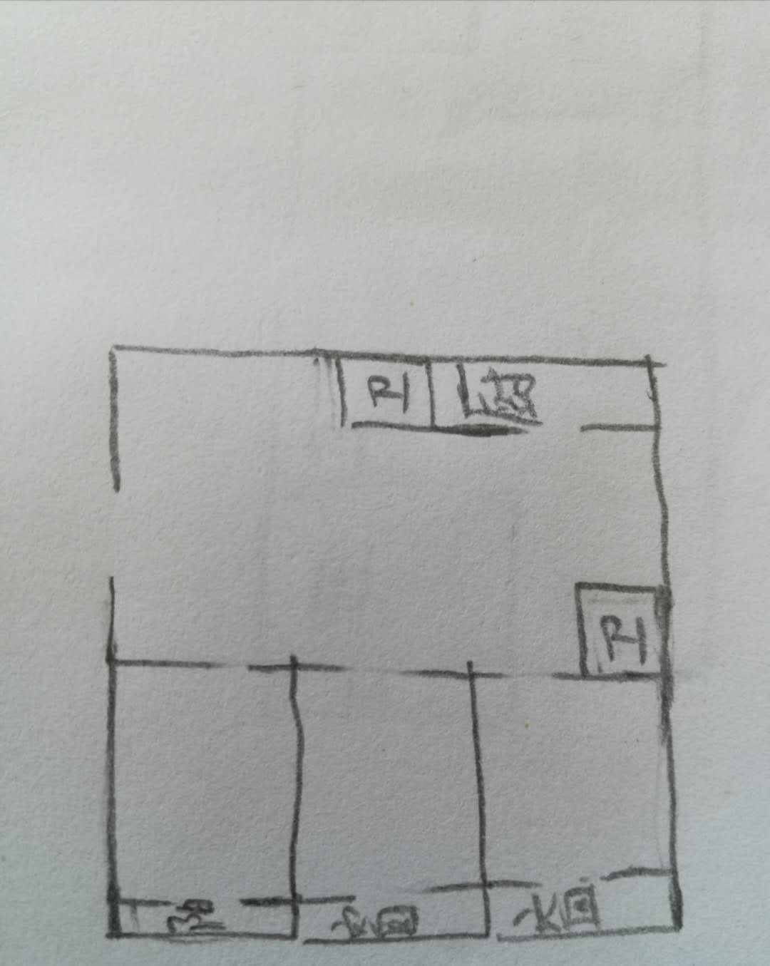 湖滨家园 3室2厅 15楼