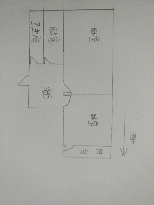 北园小区 2室1厅 2楼