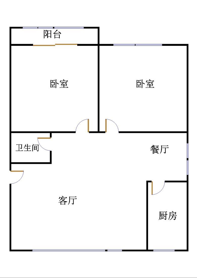万象城 2室2厅 4楼