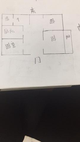 监狱宿舍 3室1厅 双证齐全 简装 60万